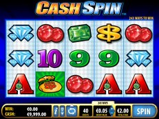 cash spin slot bally