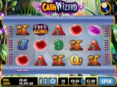 cash wizard slot bally