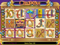cleopatra video slot