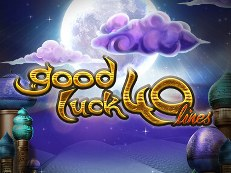 good luck 40 lines slot wazdan
