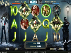 invisible man slot netent