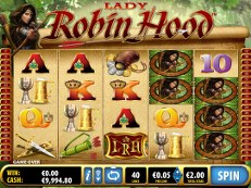 lady robin hood slot bally