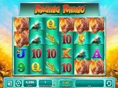 raging rhino slot wms williams