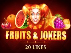 fruits and jokers 20 lines