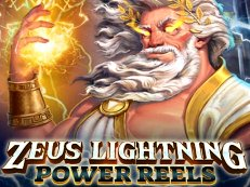zeus lightning power reels